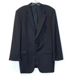 Burberry London Kensington Pin Stripe Suit Jacket